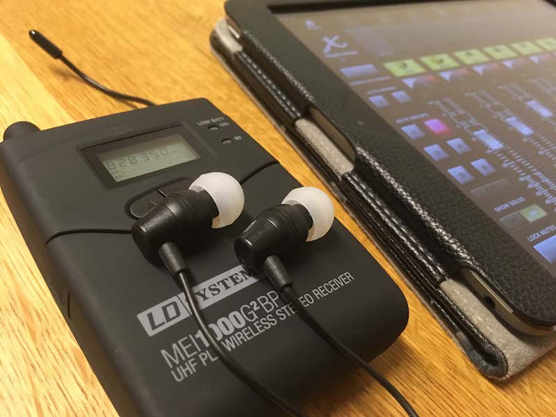 Live-Mischen-In-Ear-Monitoring